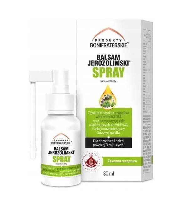 Bonifrates balsam jerozolimski spray 30ml