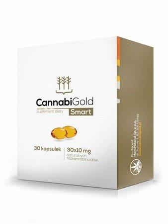 CannabiGold Smart - 30 kapsułek, 300 CBD