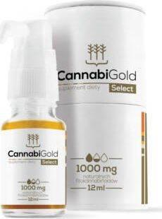 Cannabigold Select 12ml 1000mg CBD