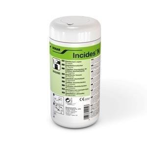 Chusteczki do dezynfekcji Incides-Plastik