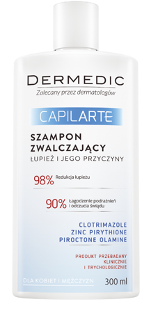 Dermedic Capilarte szampon zwalczający łupież 300ml