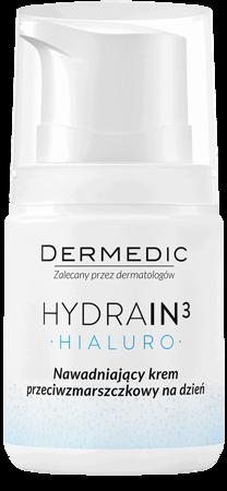 Dermedic Hydrain3 Hialuro krem nawadniający na zmarszczki na dzień 55g