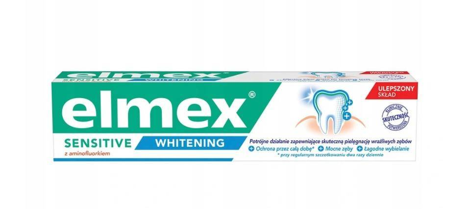 Elmex pasta do zębów sensitive whitening 75ml