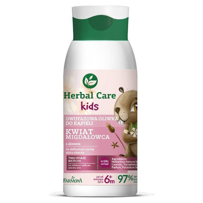 Farmona Herbal Care Kids dwufazowa oliwka do kąpieli 300ml