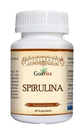 Gorvita Spirulina, uzupełnienie diety 60 kaps.