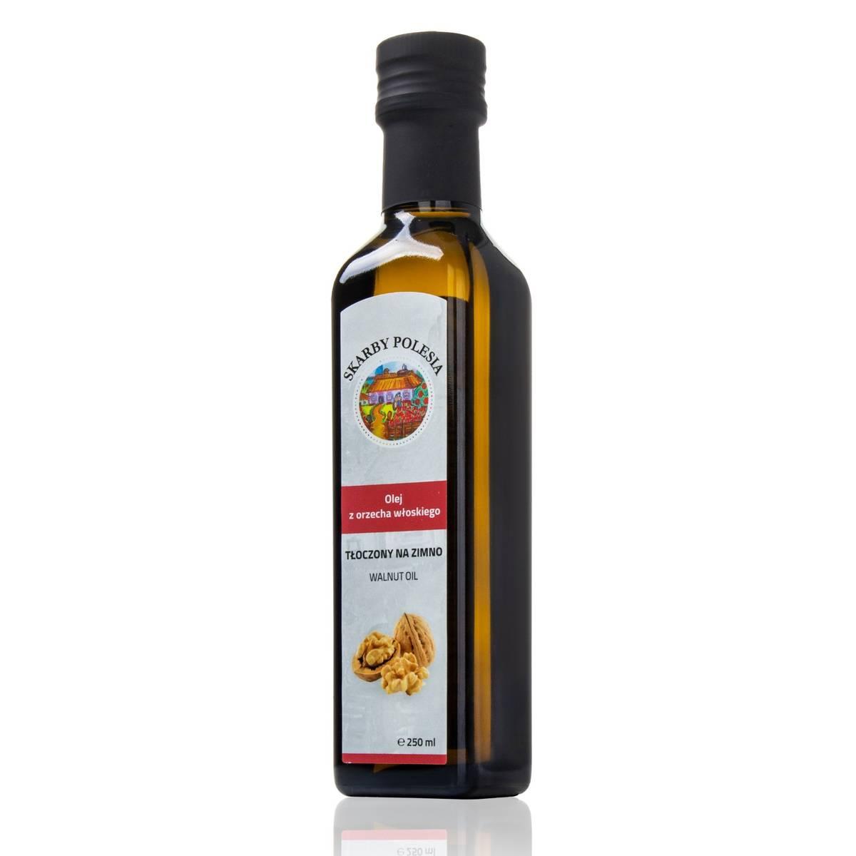 India Naturalny olej z orzecha włoskiego tłoczony na zimno 250 ml