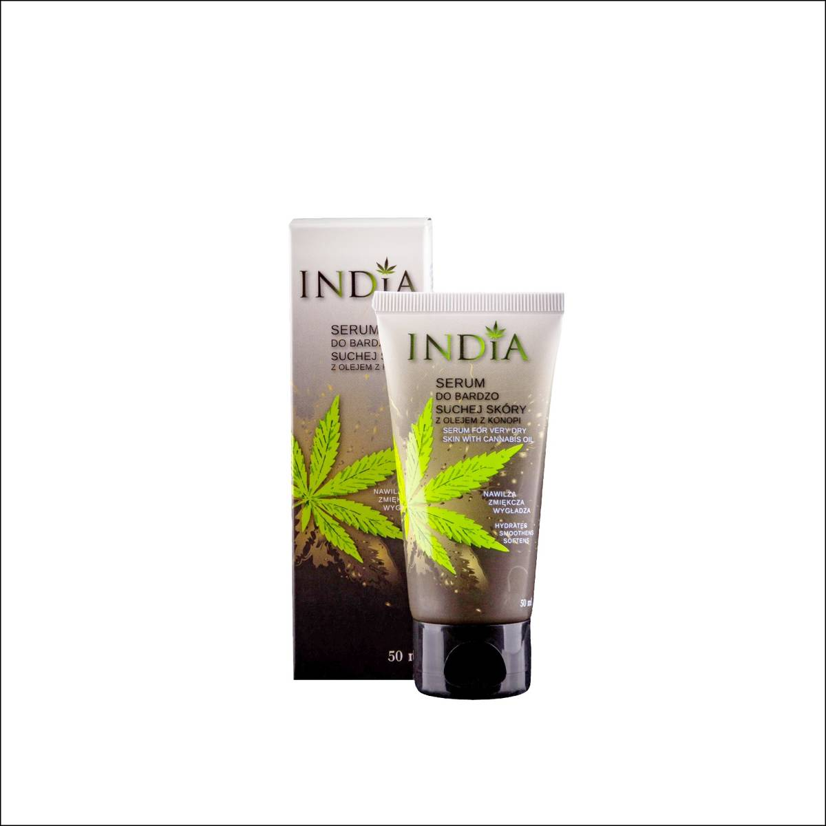 India Serum do suchej skóry 50 ml twarz i dłonie