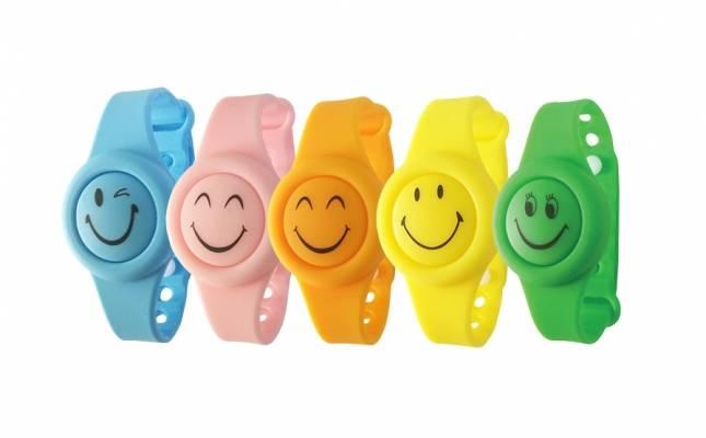Intec opaska higieniczna Komastop Smile niebieska