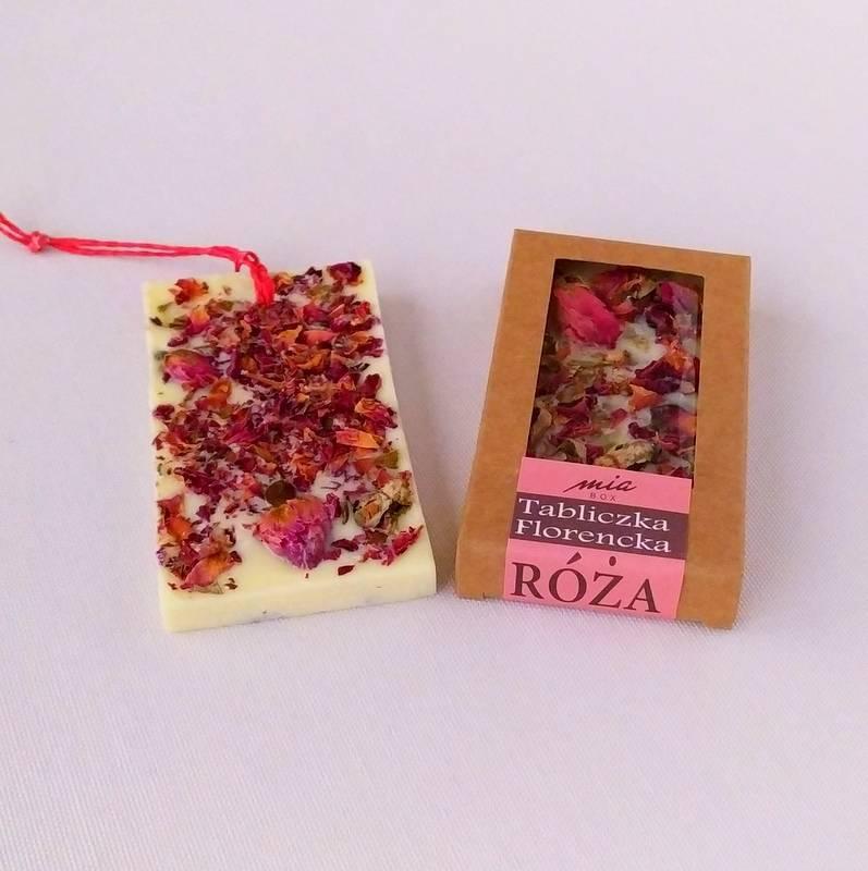 Miabox Tabliczka Florencka róża