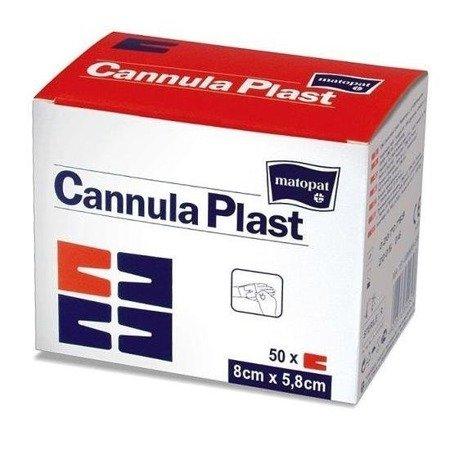 Opatrunek Cannula Plast włókninowy 50 SZT
