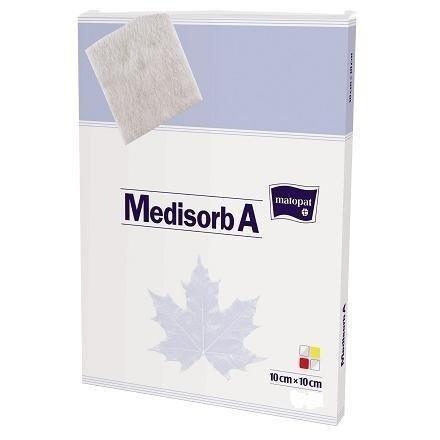 Opatrunek medyczny Medisorb A 10x10cm 1 SZT REF