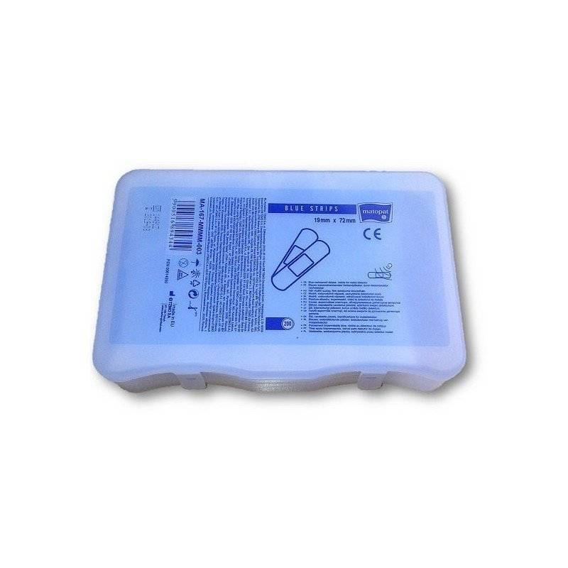 Plaster blue strips 19x72 200 szt