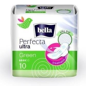 Podpaski Bella Perfecta Green Ultra 10 SZT