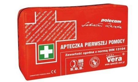 Vera Apteczka Classic Plus w opakowaniu z materiału wodoodpornego+wkład DIN 13164 Plus