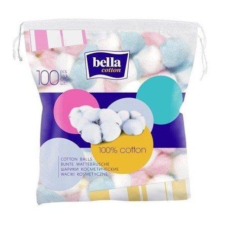 Waciki Kosmetyczne Kolorowe 100 SZT