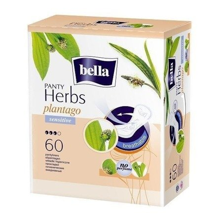Wkładki Bella Panty Herbs Sensitive 60 SZT