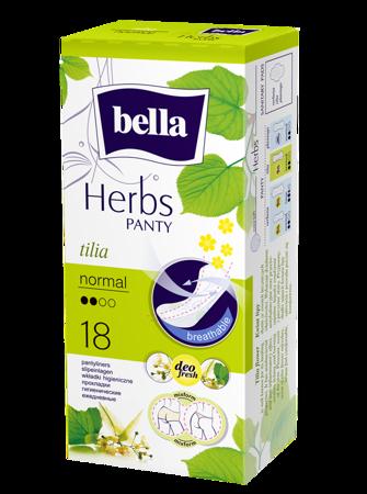 Wkładki Bella Panty Herbs z kwiatem lipy 18 SZT