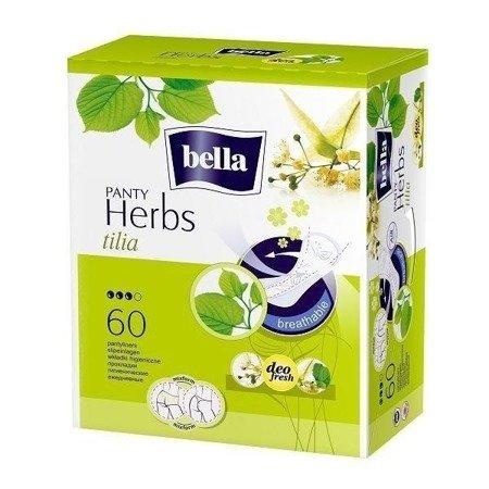 Wkładki Bella Panty Herbs z kwiatem lipy 60 SZT