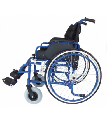 Wózek Inwalidzki aluminiowy IWR roz. 48/P nieb.