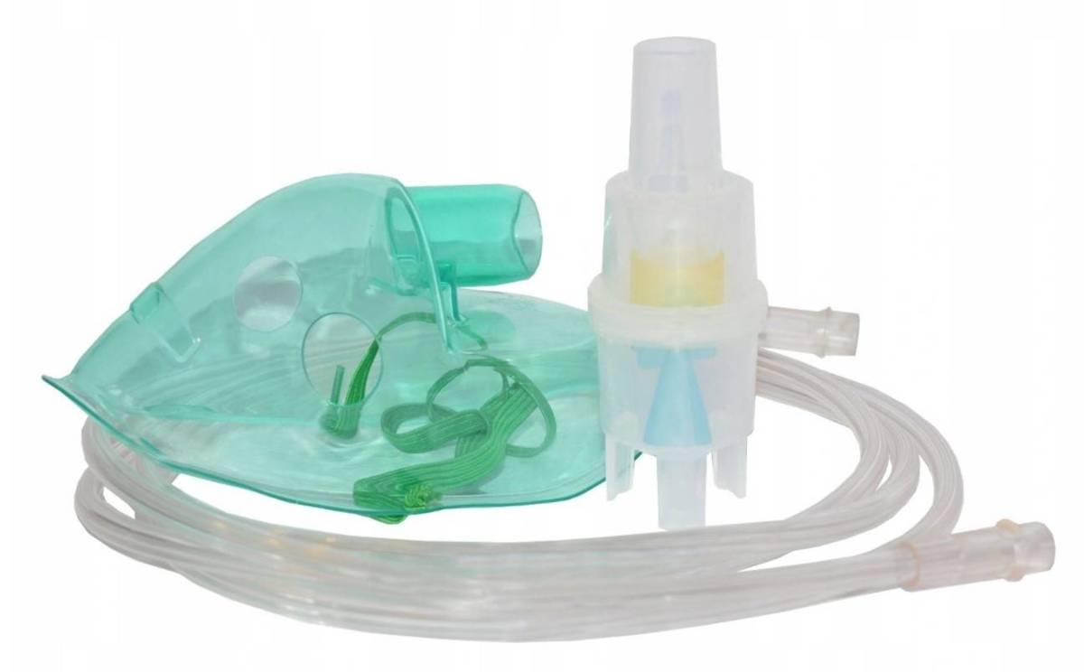 Zestaw do inhalatora Intec dla dorosłych (maska,nebulizator,przewód)