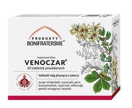 Bonifrates Venoczar suplement diety 60 tabletek