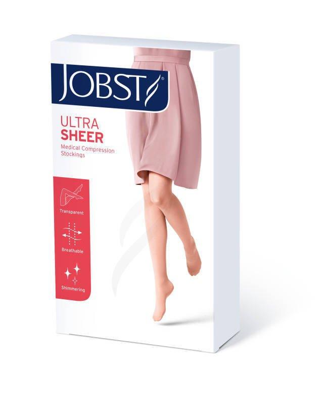 Jobst Ultra Sheer podkolanówki zamknięte palce ccl1 czarny 3