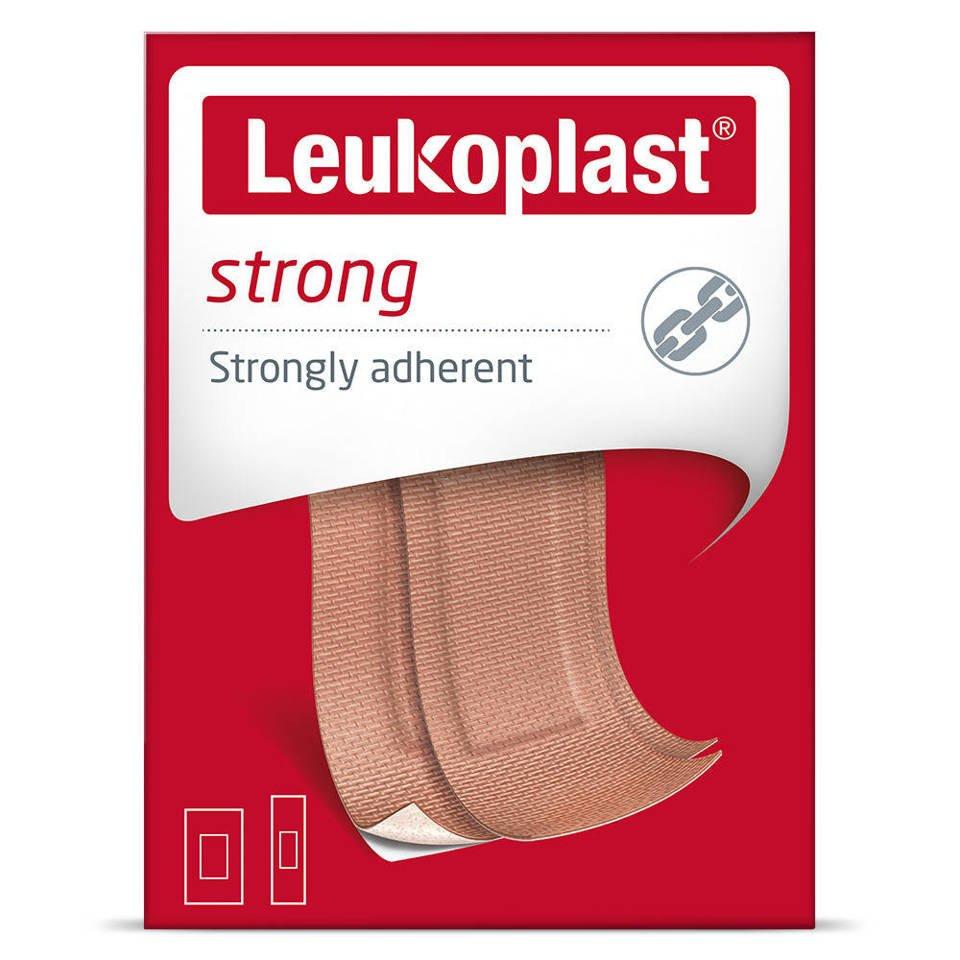 Leukoplast plaster strong 22x72mm,38x63mm mix 20 szt