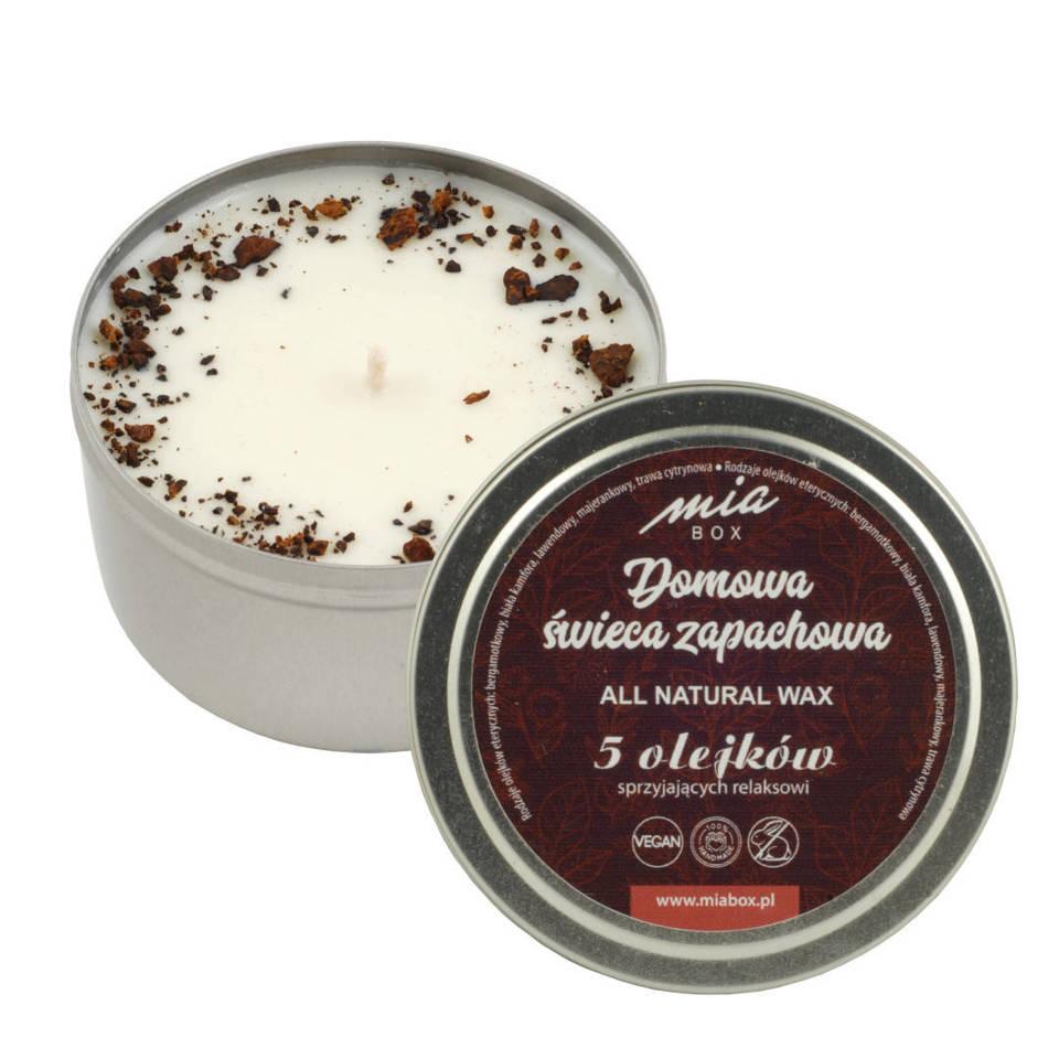 Miabox świeca zapachowa sprzyjająca relaksowi 190g
