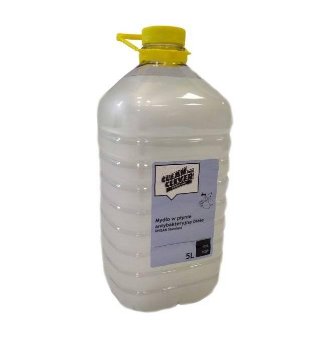 Mydło antybakteryjne w płynie o zapachu konwalii Unisan standard 5l