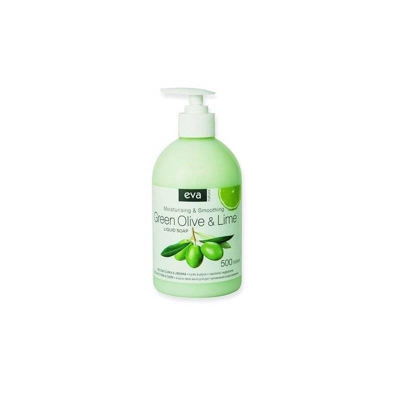 Mydło w płynie zielona oliwka i limonka 500ml z pompką