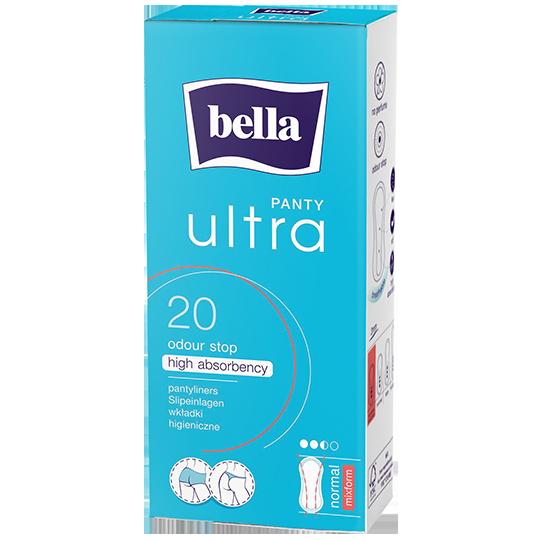 Wkładki Bella Panty Ultra Normal Mixform 20 szt
