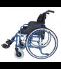 Wózek Inwalidzki aluminiowy IWR roz. 48/P srebrny